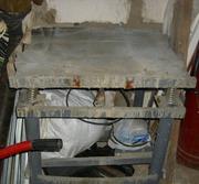 Вибростол электрический для изготовления плитки